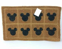 Mickey Mouse Icon Tile Welcome Door Mat Coir Fiber Handmade