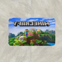 Minecraft Video Game Rug Mat Floor Door Home Entrance Cotton