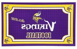 Minnesota Vikings Embossed Door Mat