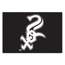 FANMATS MLB Chicago White Sox Nylon Face Starter Rug