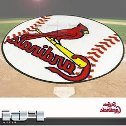 FANMATS MLB St Louis Cardinals Nylon Face Baseball Rug