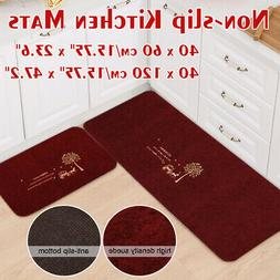 Modern Non-slip Door Floor Rug  Mat Kitchen Bathroom Bedroom