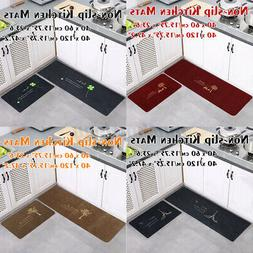 Modern Non-slip Entrance Door Floor Kitchen Rug Mat Bathroom
