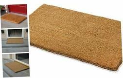 "Natural Coco Coir Doormat, 22-inch by 36-inch, 1"" Thick Low"