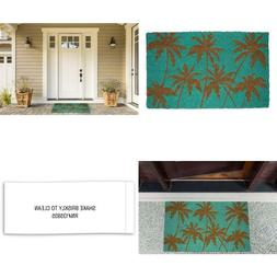 "Dii Natural Coir Fiber, 18X30"" Entry Way Outdoor Door Mat Wi"