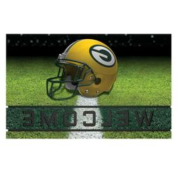 FANMATS NFL Green Bay Packers Crumb Rubber Welcome Door Mat