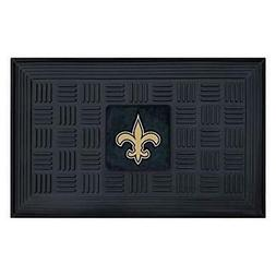 FANMATS NFL New Orleans Saints Vinyl Door Mat