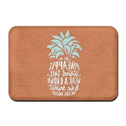 CIliik Non-Slip Be A Pineapple Stand Tall Entrance Doormat 1