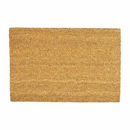 Door Mat Non-Slip PVC Coir, 40 x 60cm - Plain - Indoor Welco