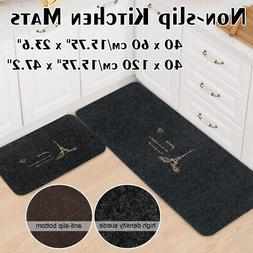 Non-slip Door Floor Rug Mat Set Kitchen athroom Carpet Fashi