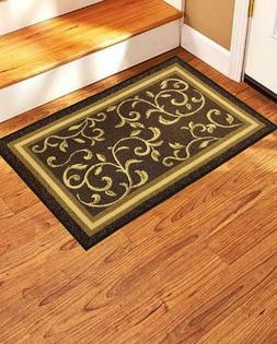 Non-Slip Door Mat - Rubber Back Landing Mat - Area Rug Low P
