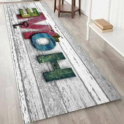 Non-slip Thick Flannel Door Mat HOme Kitchen Floor Mat Bath