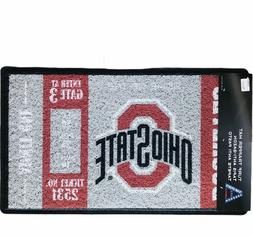 Ohio State University Door Turf Trapper Mat Outdoor Welcome