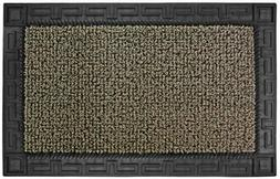"GrassWorx Clean Machine Omega Doormat, 24"" x 36"", Earth Taup"