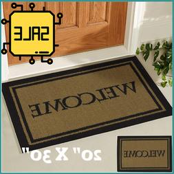 Outdoor Floor Welcome Mat- Double Door Heavy Duty Large Coir