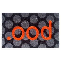 Outdoor Mats For Front Door Boo Non Slip Coir Mat Halloween