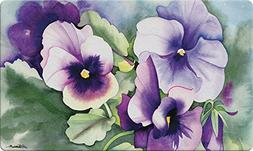 Toland Home Garden Pansy Perfection 18 x 30 Inch Decorative