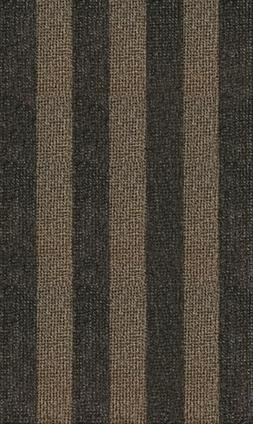 GrassWorx Clean Machine Patio Stripe Doormat for Double-Door