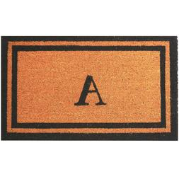 """Personalized / Monogrammed 18"""" x 30"""" Natural Coco Coir Welco"""