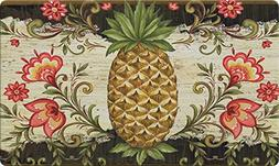Toland Home Garden Pineapple and Scrolls 18 x 30 Inch Decora
