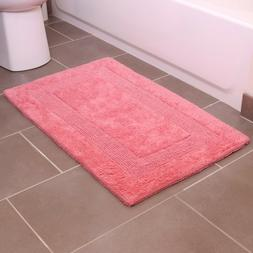Provence Bath Rug - 21 x 34 - 100% Cotton - Absorbent Soft B