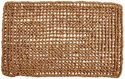 Kempf Rectangle Dragon Coco Coir Doormat, 18-inch by 30-inch