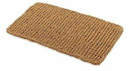 Kempf Rectangle Dragon Coco Coir Doormat, 22-inch by