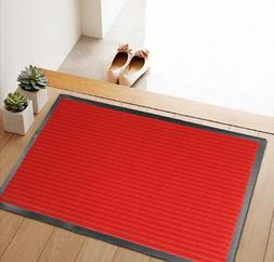 Rubber Back Door Mat Entrance Doormat Indoor Floor Welcome R