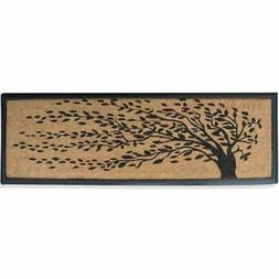 A1 Home Collections Rubber and Coir Molded 'Falling Leaves'