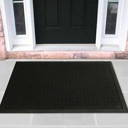 rubber doormat entrance rug indoor