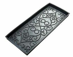 Iron Gate Sculpted Damask Heavy Duty Rubber Boot Tray Door M
