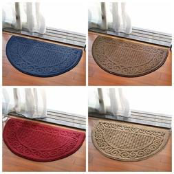 Semicircle Retro Anti Slip Doormats Kitchen Home Floor Entra