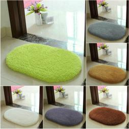 Soft Fiber Non Slip Absorbent Floor Bath Mat Bathroom Shower