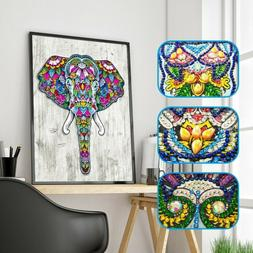 Special Shaped Elephant Diamond Painting DIY 5D Partial Dril