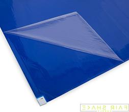 Sticky, Tacky Blue Floor Mats with Upgraded Adhesives  for R