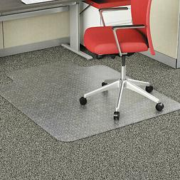 """Alera Studded Chair Mat for Flat Pile Carpet 36"""" x 48"""" with"""