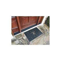 Team Fan Gear Fanmats Oakland Raiders Medallion Door Mat Siz
