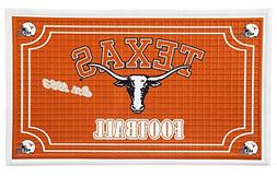 Team Sports America Texas Longhorns Embossed Floor Mat, 18 x