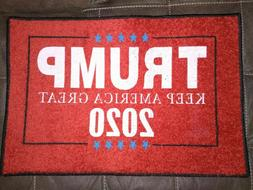 Trump Door Mat Floor Mat Keep America Great 2020