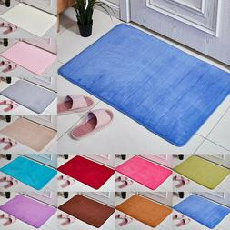 Washable Carpet Bedroom Kitchen Small Rugs Non Slip Door Mat