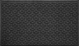 Bungalow Flooring Waterhog Indoor/Outdoor Doormat, 3' x 5',