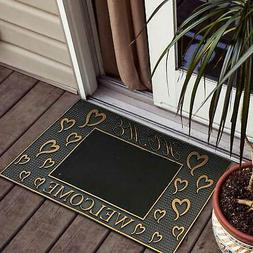 welcome door mat pvc home welcome hear