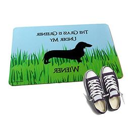 HIGH COTTON Welcome Doormat - The Grass is Greener Under My