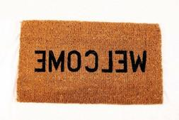 Kempf Welcome Natural Coco Coir Doormat, 16 by 27 by 1-Inch