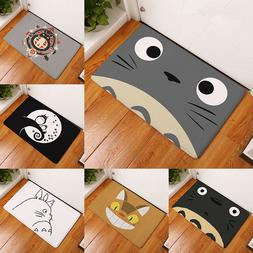 Welcome Waterproof Door Mat Cartoon Cute Totoro Kitchen Rugs