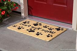 "Kempf Wipe Your Paws Doormat 18"" x 30"""