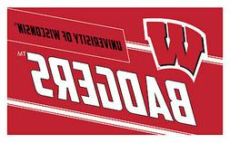 Wisconsin Badgers Coir Punch Door Mat