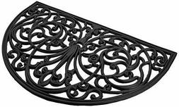 Achim Home Furnishings WRM1830IW6 Ironworks Wrought Iron Rub