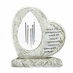 Roman Your Memory Treasure Within Heart 12 Inch Resin Stone